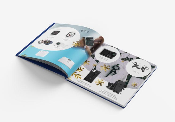 katalog reklamowy projekt + wydruk
