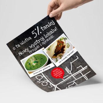 ulotki dla restauracji